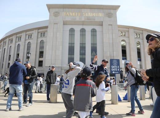 New York Yankees honor a Nurse Hero