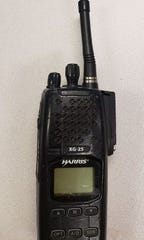 Clifton police handheld radio.