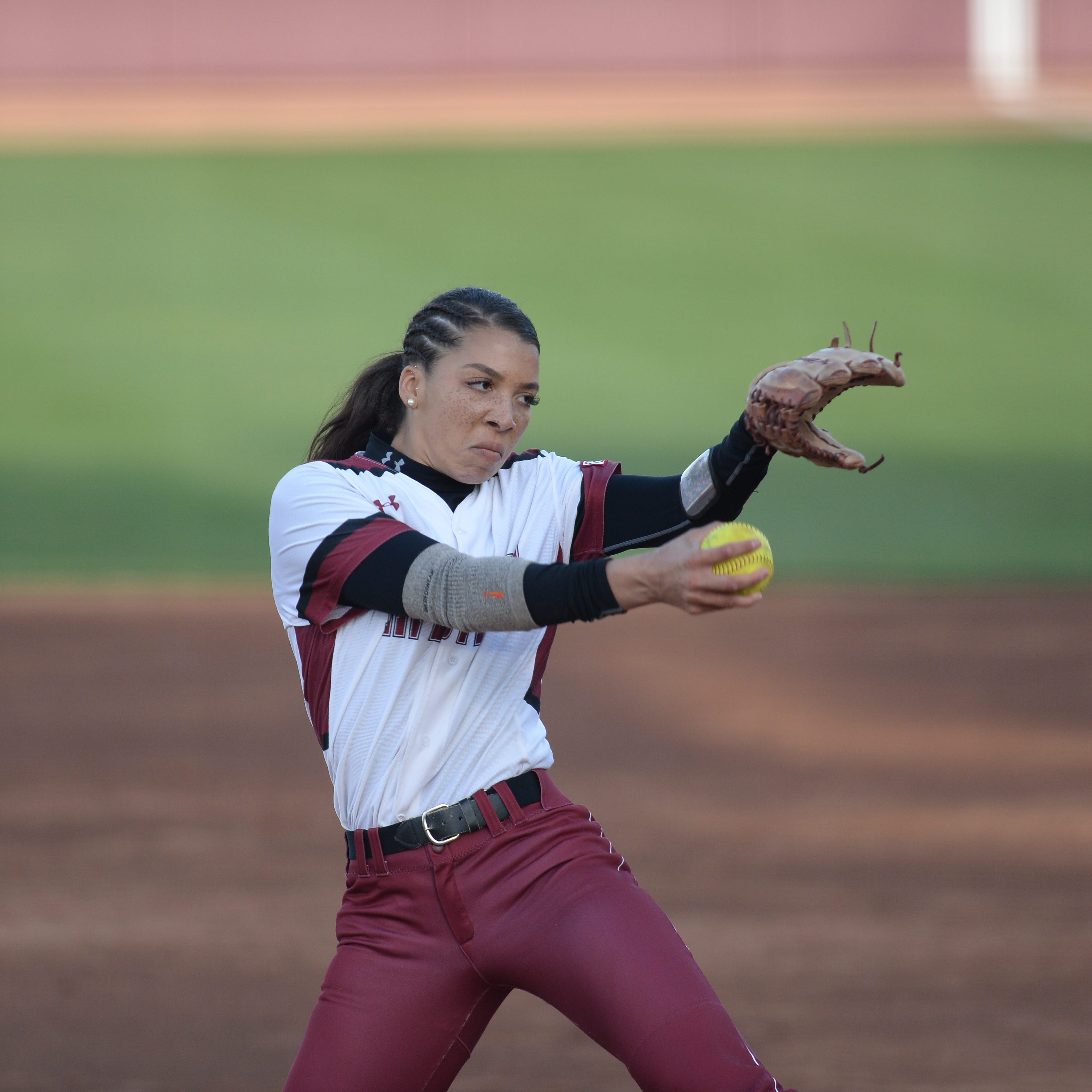 New Mexico State softball enters WAC play at Seattle