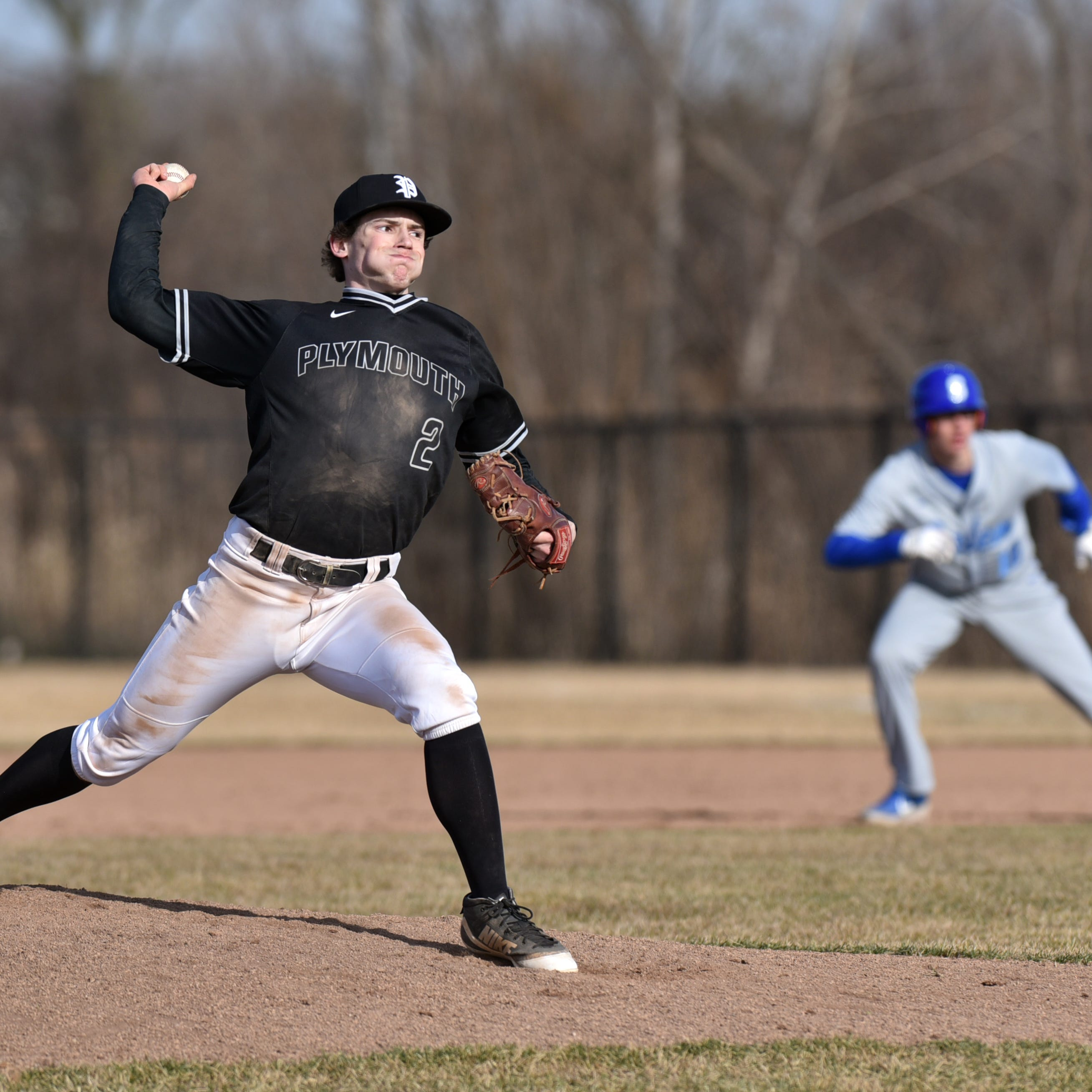 Plymouth baseball holds off Salem for dramatic rivalry win