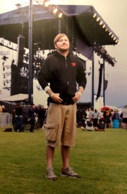 Brandon Ray Henderson takes in the daytime vibe of Coachella in 2012.