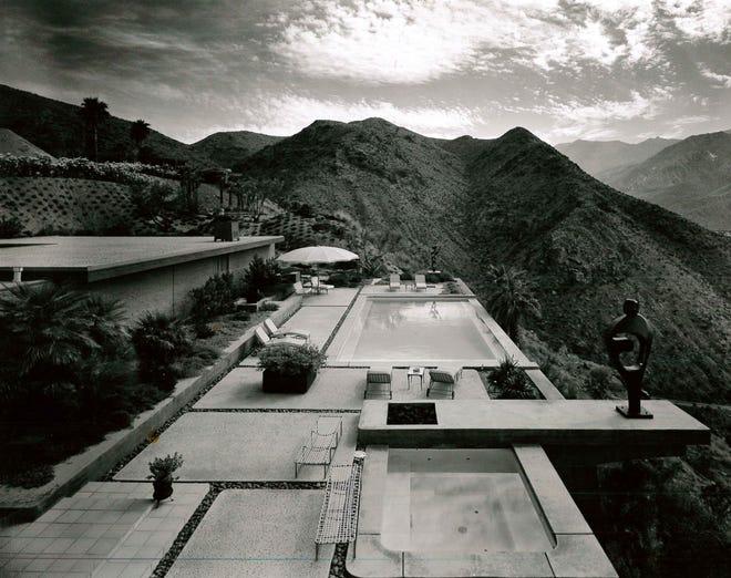 William Holden's Southridge home in Palm Springs circa 1970, designed by Hugh Kaptur.