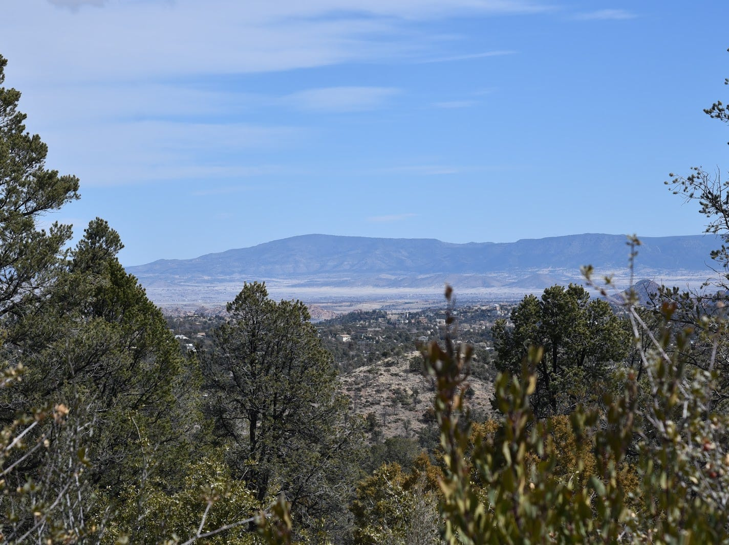 Prescott Valley seen from the West Trail.
