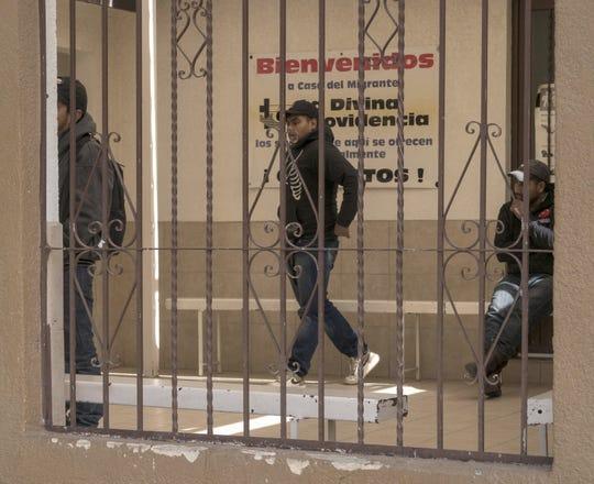 A May 2018 photo shows Casa Migrante Divina Providencia in San Luis Rio Colorado, Sonora, near Yuma, a shelter where migrants seeking asylum wait to enter the U.S.
