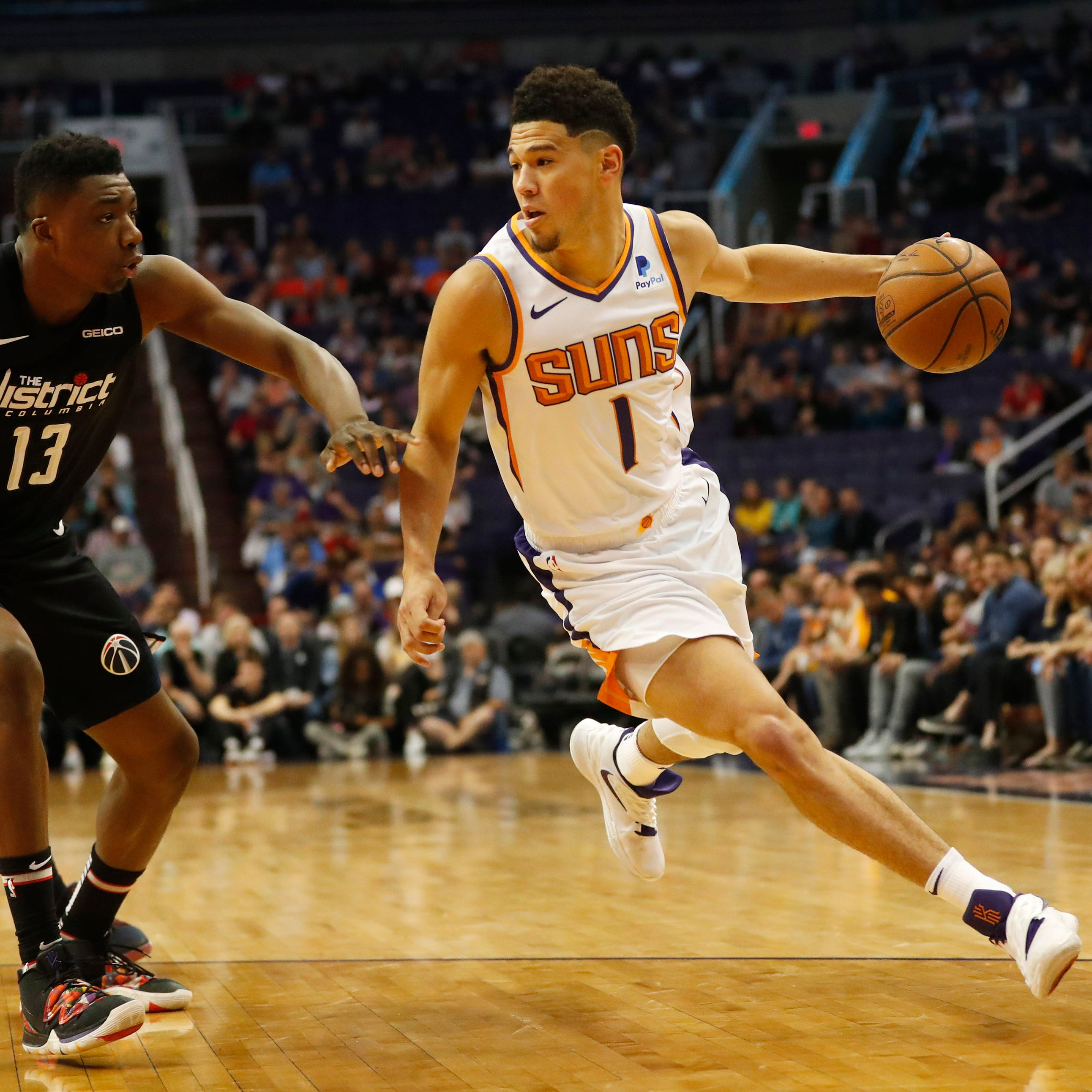 Devin Booker plans to have say in what the Phoenix Suns do this summer