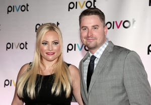 Television personalities and siblings Meghan McCain, left, and Jimmy McCain, right, attend a screening of two original series premiering on Pivot on Thursday, Sept. 12, 2013 in New York.
