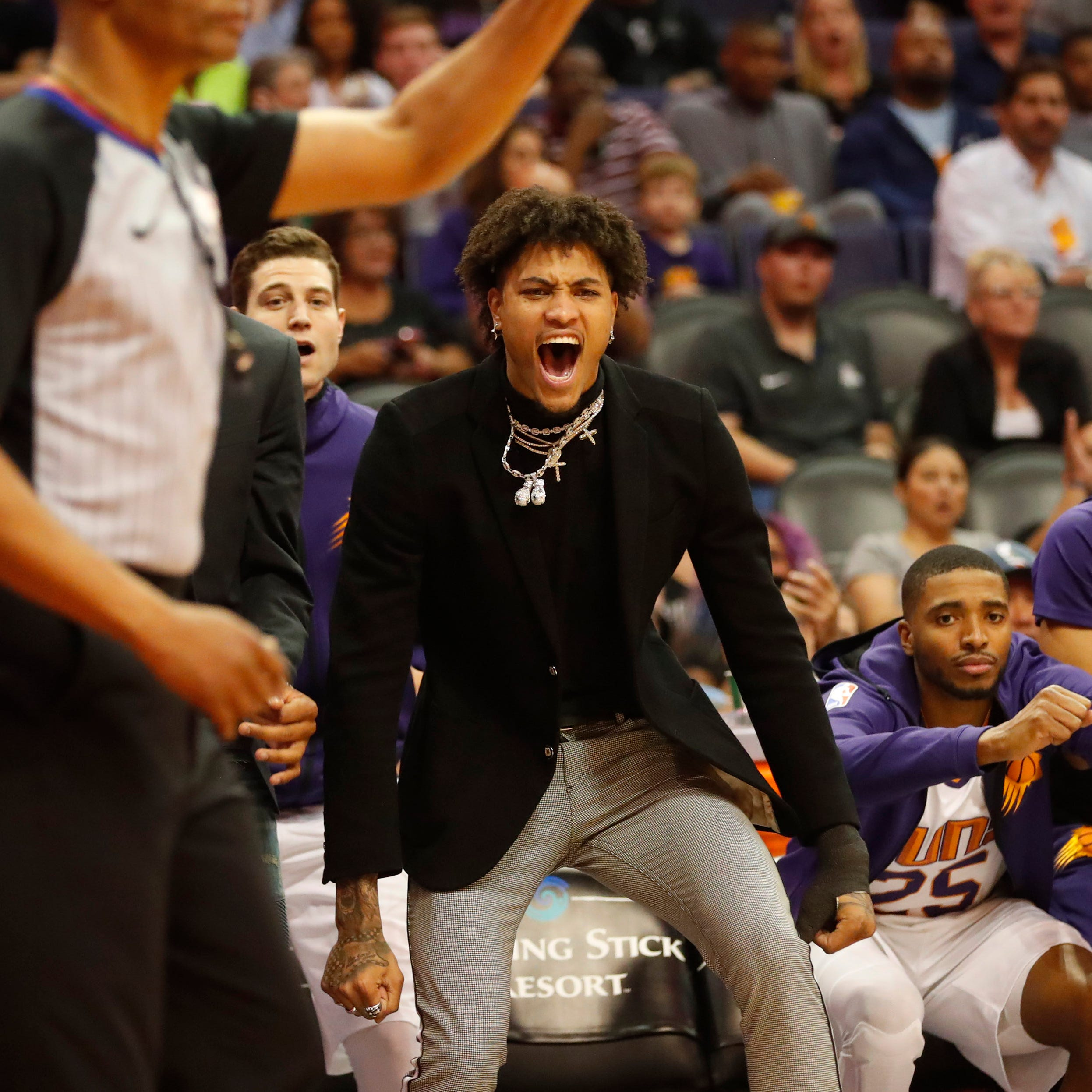 Kelly Oubre Jr.'s got the 'Valley Boyz,' but will he be back with the Phoenix Suns