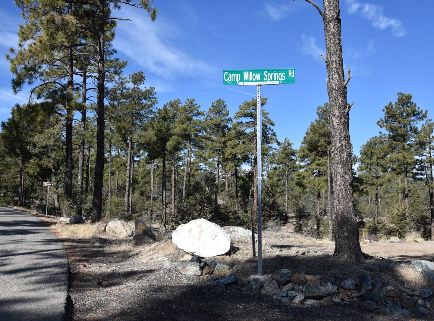 White Rock trailhead on Thumb Butte Road opened in 2018.