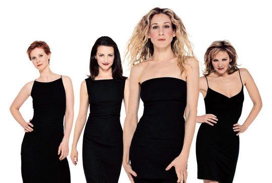 Cynthia Nixon,  Kristin Davis, Sarah Jessica Parker y Kim Cattrall eran las protagonistas de la serie.