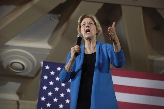 La senadora Elizabeth Warren es una de las precandidatas por el partido demócrata rumbo a la presidencia de EEUU.