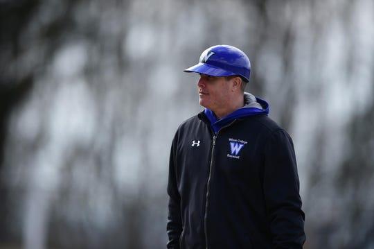 John Poss, head coach of the Wilson College baseball team.