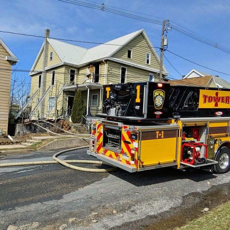 Chambersburg residents displaced after fire claims Center Street home