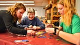 York College Therapeutic Recreation majors plan and direct weekly activities for residents of Senior Commons at Powder Mill in York Township on Wednesdays throughout the semester.