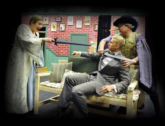 """The Belmont Theatre presents """"Moon Over Buffalo,"""" March 29-April 7."""