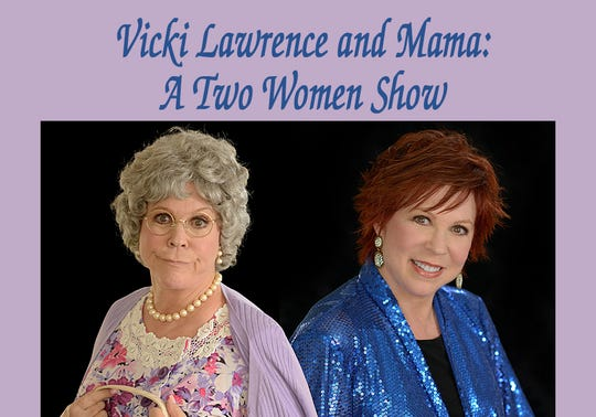 Vicki Lawrence comes to the Eichelberger Performing Arts Center April 25-26.
