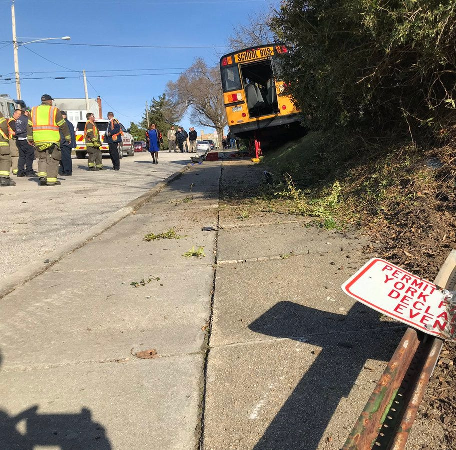 Six students, two drivers transported to hospital after crash, district says