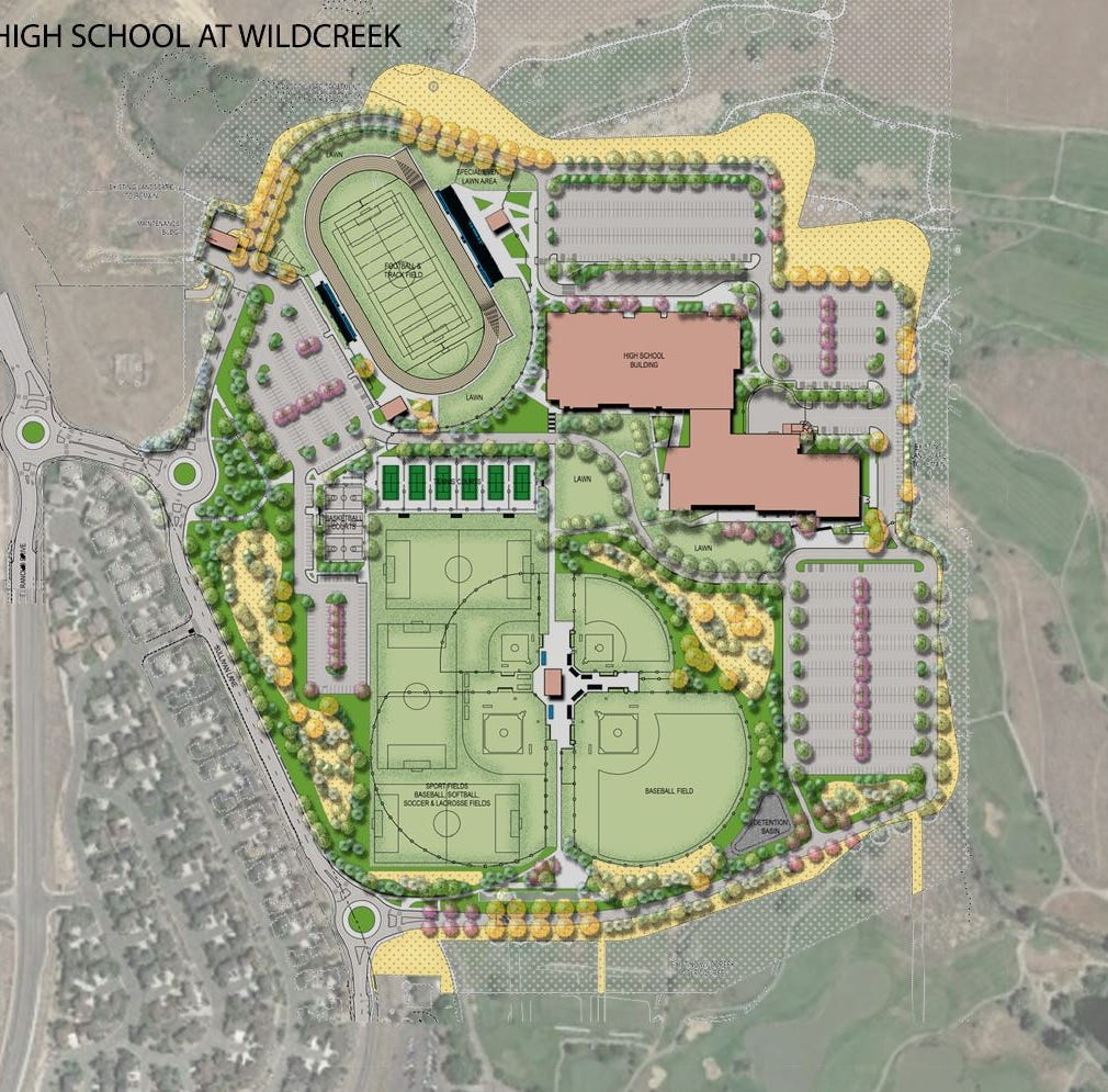 WCSD moving forward on Wildcreek high school that replaces Hug