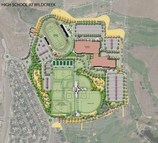 WCSD's Wildcreek High School design