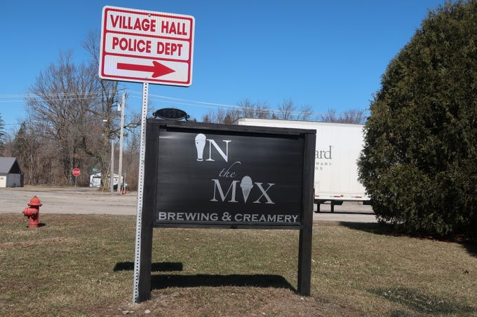 In The Mix Brewing and Creamery in Barker, Niagara County.