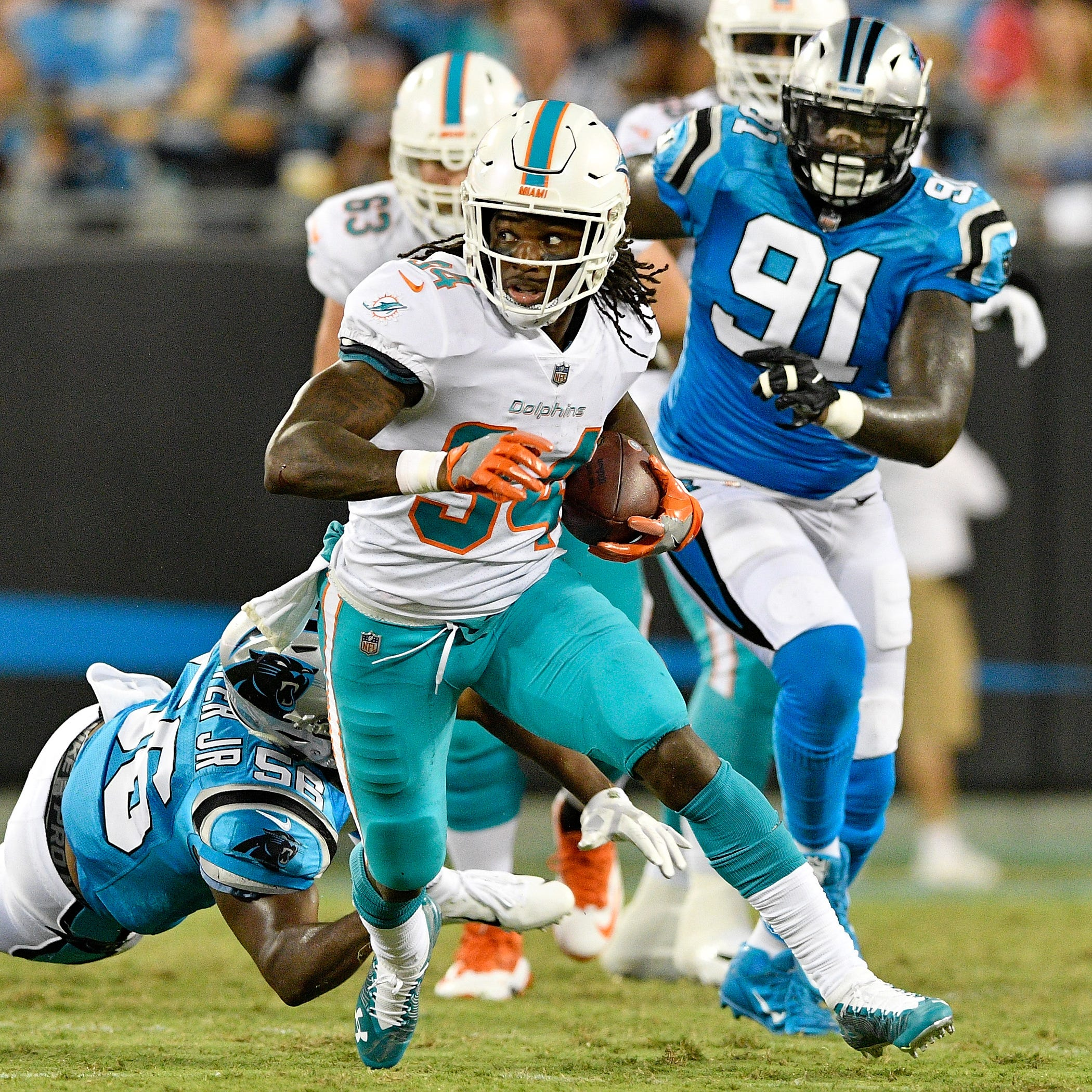 Four things to know about new Buffalo Bills running back Senorise Perry