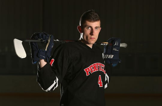Penfield's Jack Schlifke if the ice hockey AGR player of the year.