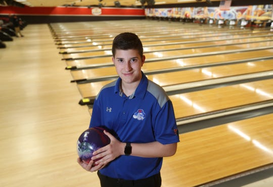 Fairport's Stefano Cittadino is the boys bowling AGR player of the year.