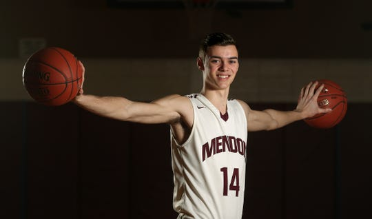 Pittsford Mendon's Dan Cook is the boys basketball AGR player of the year.