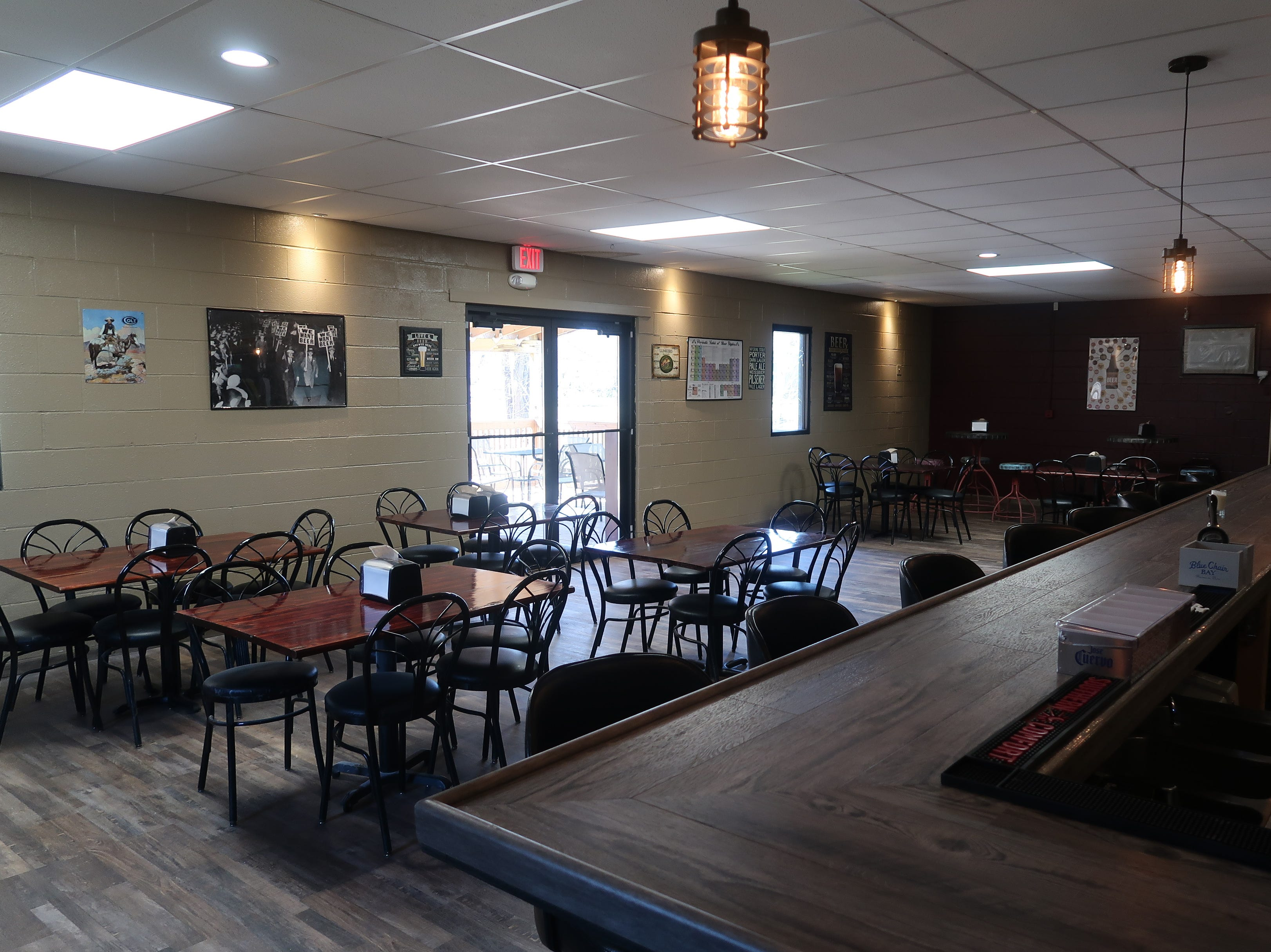 Another view of the tasting room at In The Mix Brewing and Creamery.
