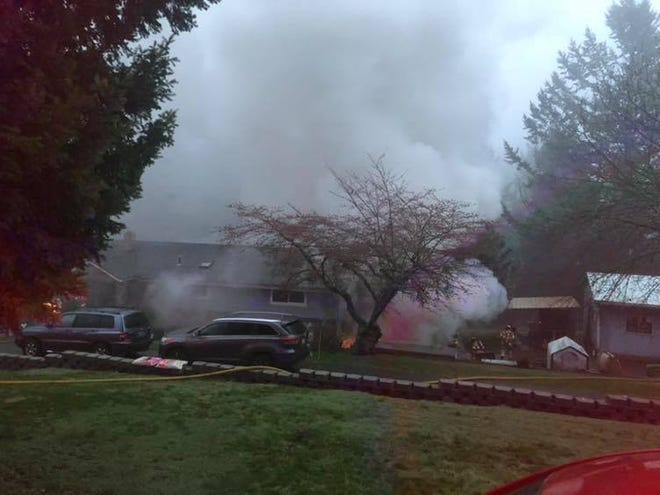 Crews responded to a 2-alarm house fire on 82nd Avenue SE Thursday morning.