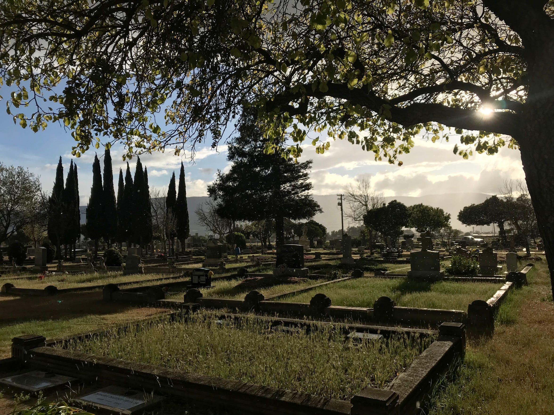 The Soledad Cemetery.