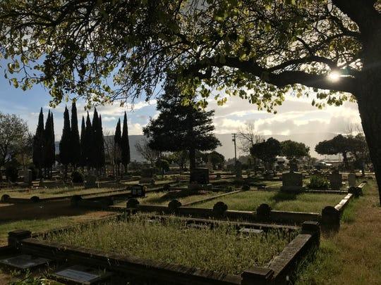 El Cementerio Soledad.