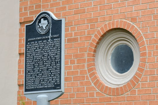 The congregation of Johnson Street Church of Christ celebrated their centennial in 2000, and were recognized with a historical marker.
