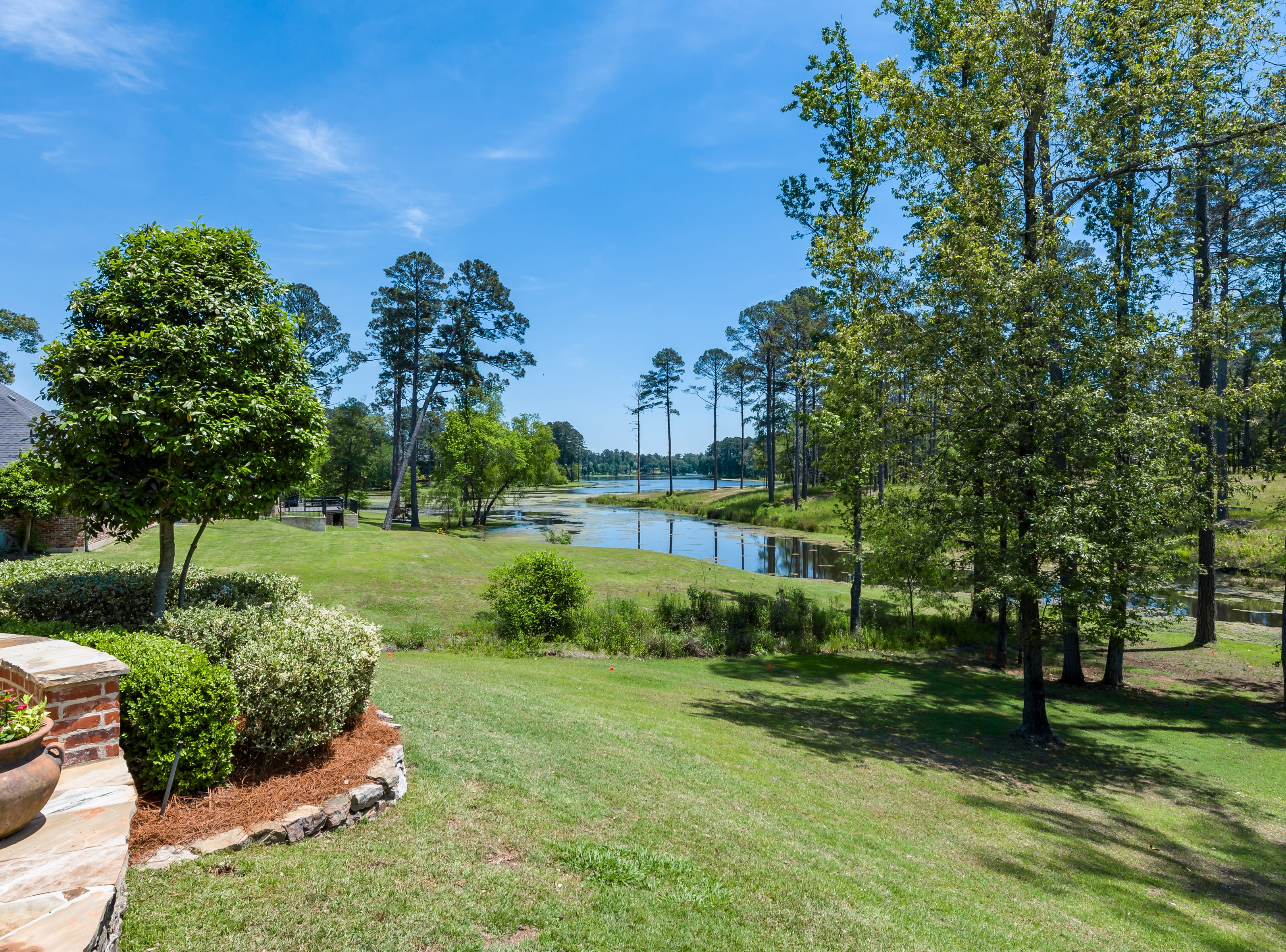 1003 West Pointe Circle, Shreveport  Price: $544,900  Details: 4 bedrooms, 3 bathrooms, 3,667 square feet  Features: Elegant home overlooking the lake in gated Long Lake Estates offers soothing lake views from the dining and living areas, gourmet kitchen, open breakfast area with hearth room, all bedrooms downstairs, amazing entertaining patio.  Contact: Denise Evans 218-0001