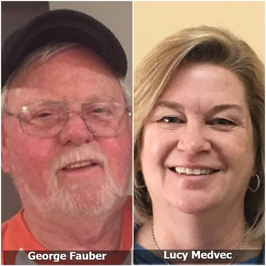 Sweet 16 Bracket Survivor matchup: George Fauber, Cabin Creek, W.V., vs. Lucy Medvec, Shreveport