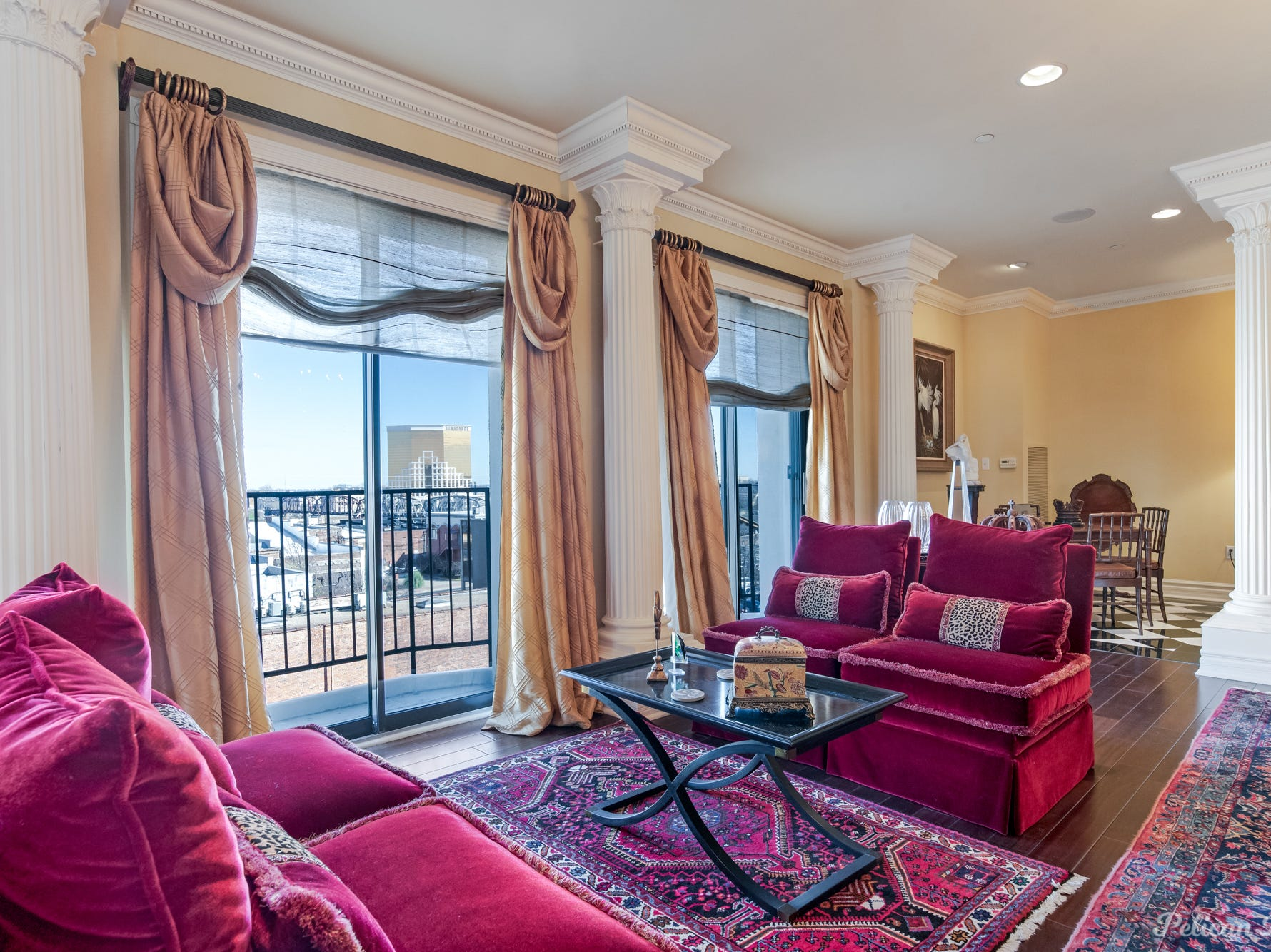 229 Milam Street, Number 45, Shreveport  Price: $450,000  Details: 3 bedrooms, 3 bathrooms, 3,042 square feet  Features: Amazing downtown views from every window, high-end features and finishes, fluted columns, floor to ceiling windows, wall of built-ins, sleek kitchen, butler's pantry with plenty of storage, 2 reserved covered parking spaces.   Contact: Karen Hoell, 780-4212