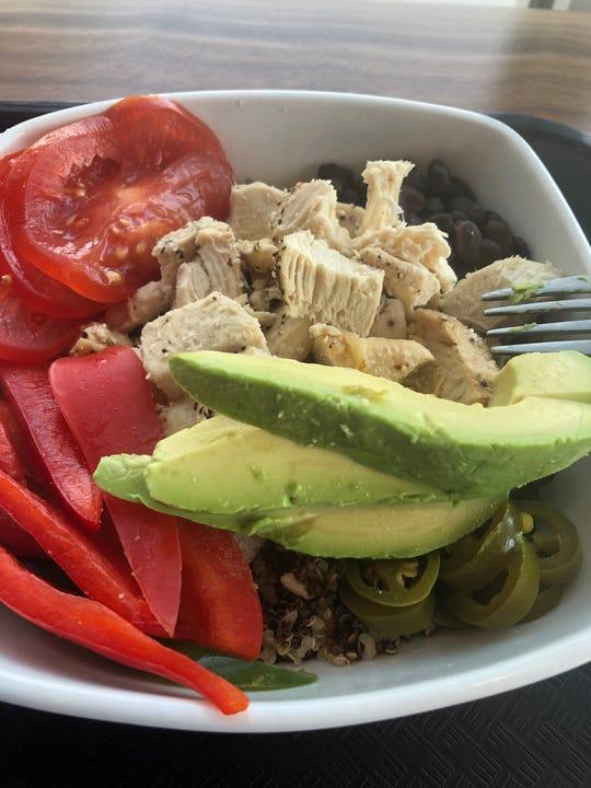 El Dairio bowl at Daily Clean Food & Drink