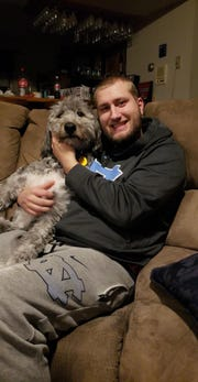 Derrick Olson, 25, from Lennox, died suddenly March 23 in his home.