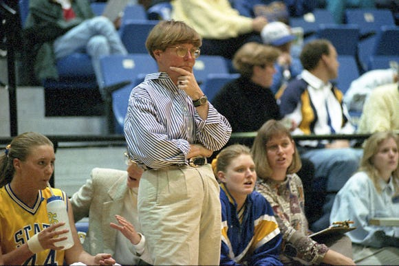 Longtime SDSU women's coach Nancy Neiber brought Johnston onto her staff as an assistant in 1999-00. A year later he was the program's head coach.