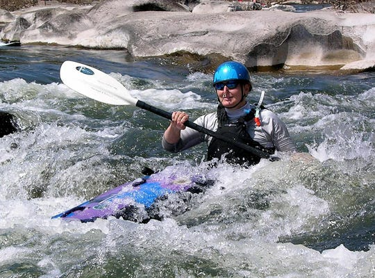 The best whitewater paddling in Missouri is on the St. Francis River in the southeast corner of the state. A paddling competition takes place there annually.