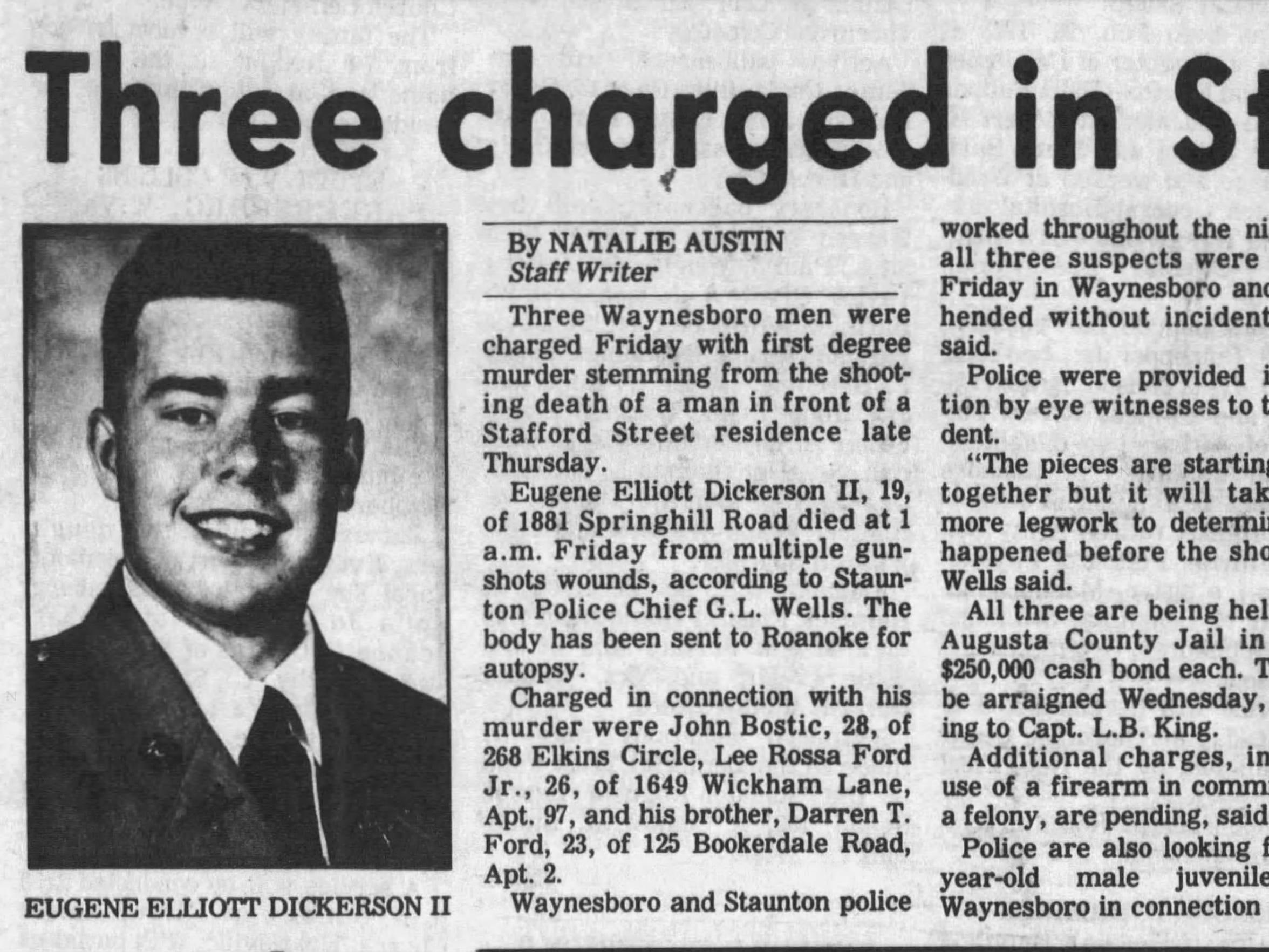 A Life Defined: Murder still haunts Staunton's Keith Scott after