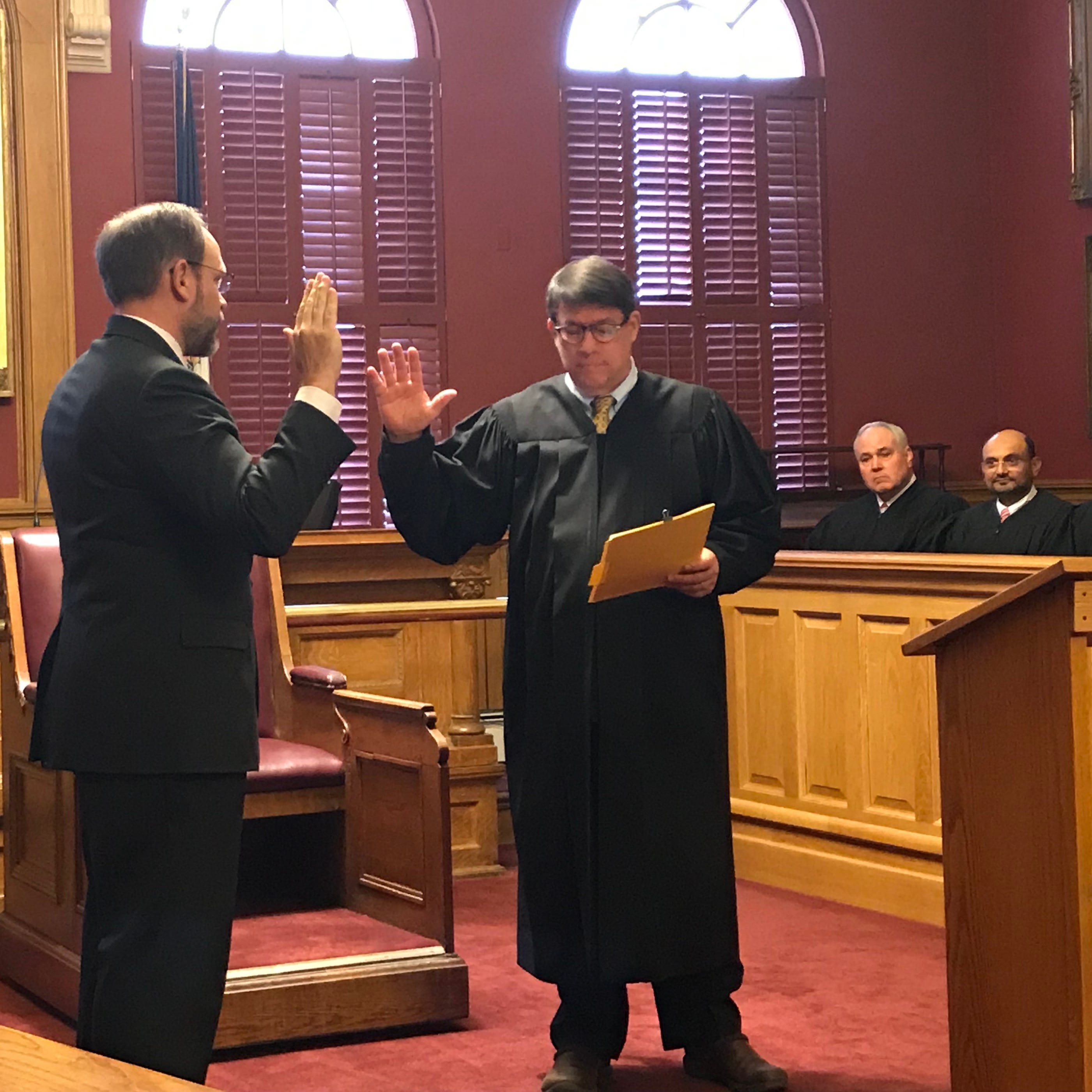 Paul Dryer replaces Judge Victor V. Ludwig, who retired at the end of 2018
