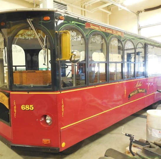 Stevens Point puts Millie the Trolley up for sale. She's old and has limited use, city says