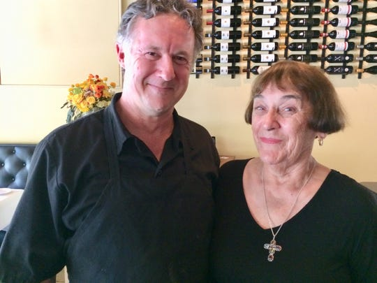 William Lawson and Rebecca Johnson, the namesake of Mimi's Table in Old Town.