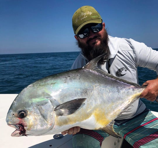 Capt. James Cronk of 772 Fly and Light Tackle Charters in Stuart said the permit fishing was good before the winds came. Hopefully, that will bounce back.