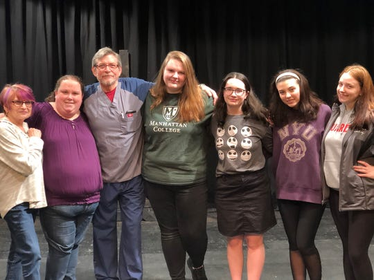 """The cast of Cumberland Players'production of""""The Ruff Guide to Shakespeare"""" are ready to take the stage. The show opens April 5."""