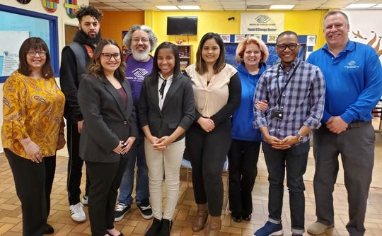 The Boys & Girls Club of Vineland recently held its judging event for the 2019 local Youth of the Year with three outstanding candidates. Youth of the Year is the Boys & Girls Club's premier recognition program which fosters a new generation of leaders, prepared to live and lead in a diverse, global and integrated world economy. Pictured after the event are (from left): Melanie Druziako, judge and member of the Rotary Club; Will Baumgardner, staff member, Boys & Girls Club of Vineland; Alaina Martinez, runner-up, Youth of the Year; Michael Morton, judge and club board president; Melia Gaines, runner-up, Youth of the Year; Diana Ramirez-Colon, winner, Youth of the Year; Diane Cristiano, judge and club board member; Cedric Holmes, judge and club board secretary; and Chris Volker, club director.