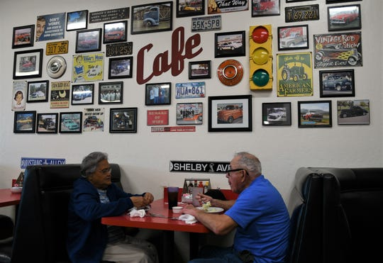 Customers trickled into The Corner Cafe on Wednesday to pay their respects to owner Byron Taylor, who passed away over the weekend.