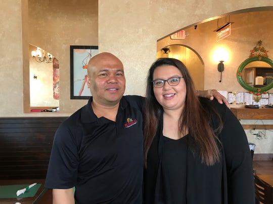Casa Mezcal owner Fred Juan and his daughter Stephanie Juan, who manages the Mosinee restaurant.