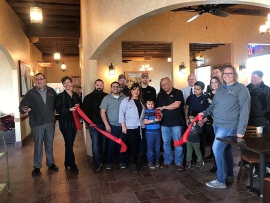 The Mosinee Chamber of Commerce and city officials joined staff and family at Casa Mezcal the morning of Thursday, March 28 for a formal ribbon cutting opening the restaurant for business.