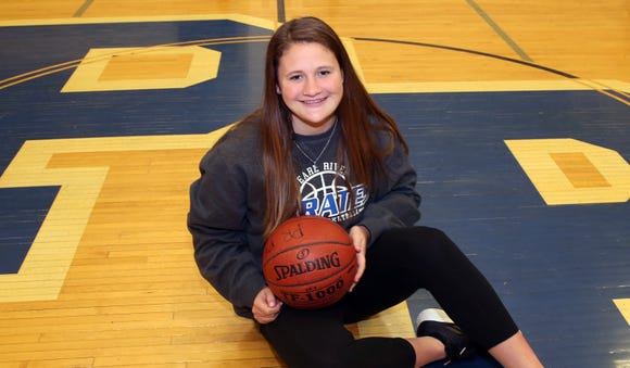 Pearl River's girls basketball senior Ashley Rilley, is this week's Rockland Scholar-Athlete of the Week, she is photographed in the Pearl River gym March 27, 2019.